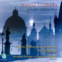 Svoboda Piano Concertos CD