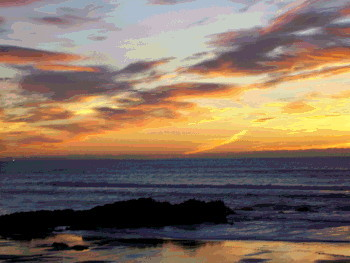 Oregon Coast Sunset Photo 2
